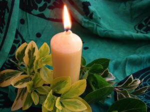 st andrews church candle