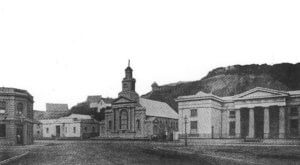 St Andrew's church at Lambton Quay 1866-1878