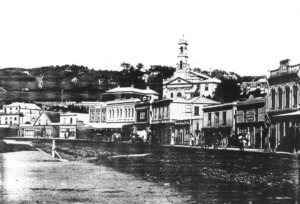 historical photo of St Andrew's on The Terrace