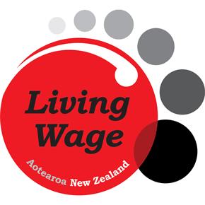New Zealand living wage logo