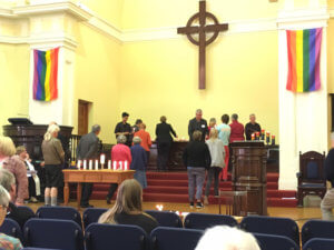 A transgender service at St Andrew's
