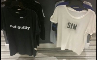 Sin being out of fashion NOT a good idea – weekly newsletter for Friday 5 July