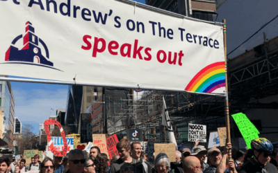 St Andrew's on The Terrace joins Climate Change March